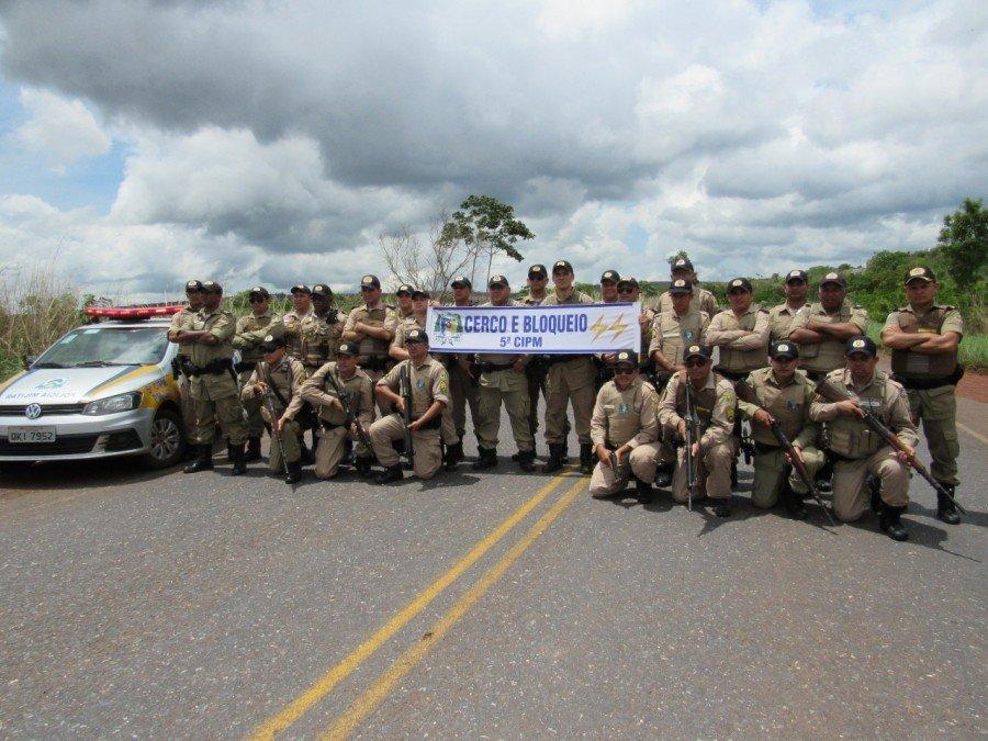 Equipe policial militar da 5ª CIPM
