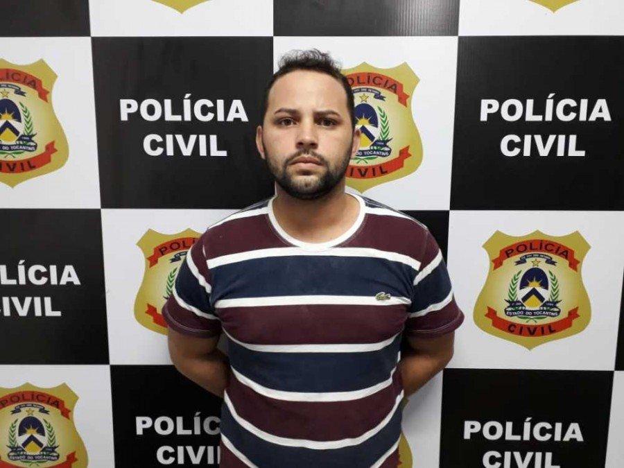 Wellington, preso pela Polícia Civil por tráfico de drogas