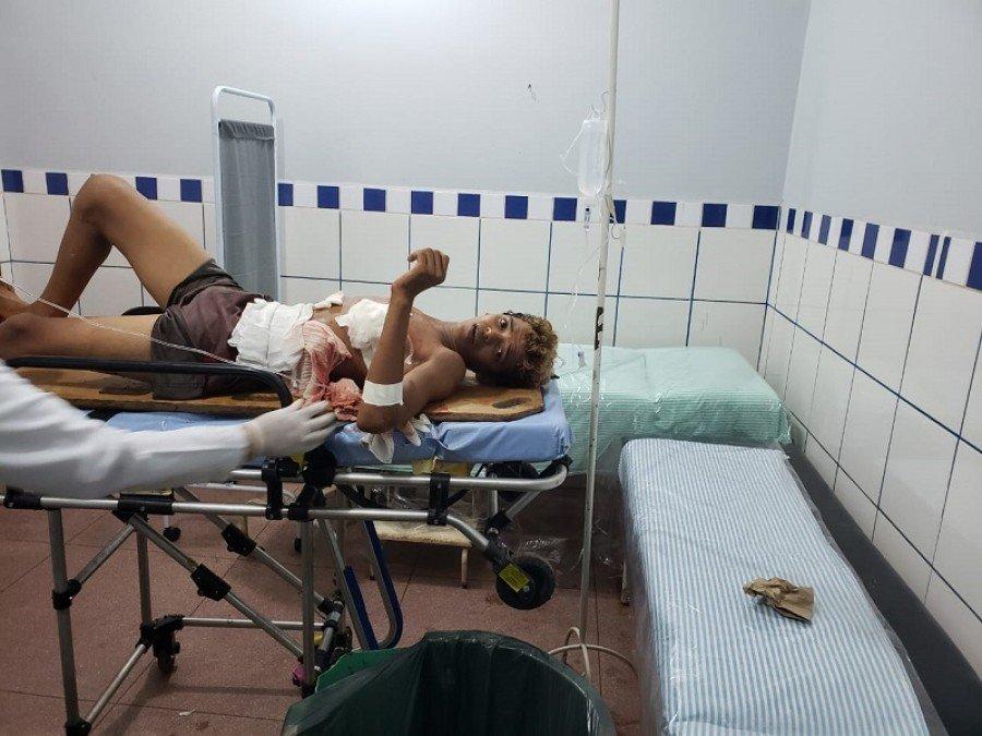 José Batista foi escoltado pela polícia até Marabá-PA (Foto: Pebinha de Açúcar)