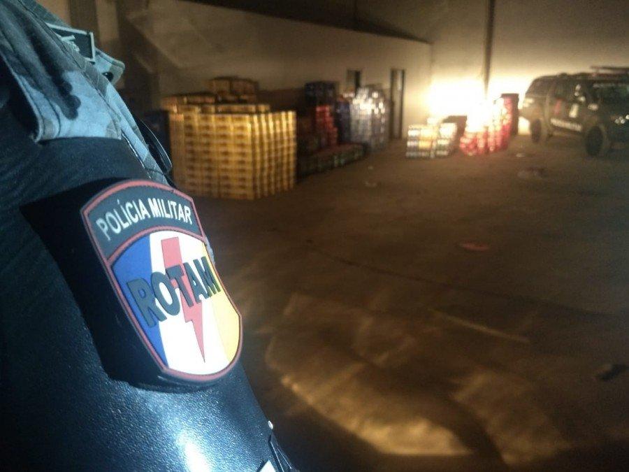 PM localizou carga roubada avaliada em 40 mil reais em Palmas