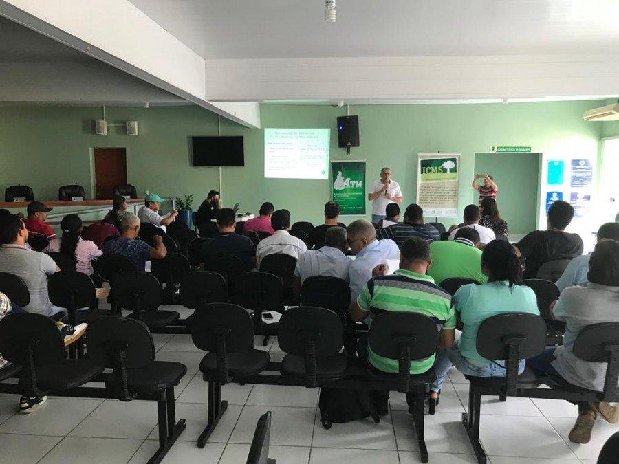 Workshop sobre o ICMS Ecológico promovido em Araguatins no ano passado