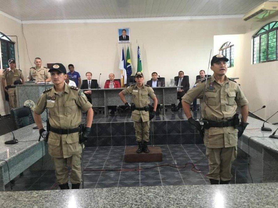 Passagem de Comando na 2ª Cia em Augustinópolis