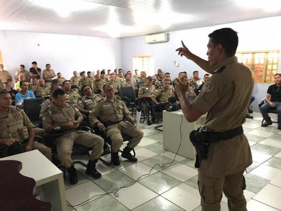 Reunião com os Militares, Delegados da PC e Promotor de Justiça