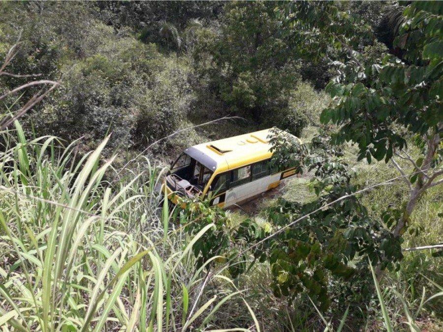 Acidente aconteceu entre Nazaré e Luzinópolis