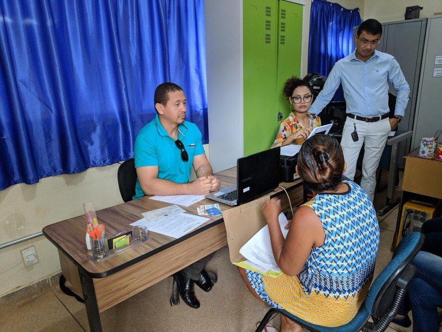 Comunidade recebeu atendimento e estudantes aprenderam na prática (Foto: Câmpus Augustinópolis/ Divulgação)