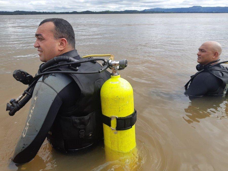 Caso foi registrado em Xambioá, no rio Araguaia (Foto: Divulgação/Corpo de Bombeiros)