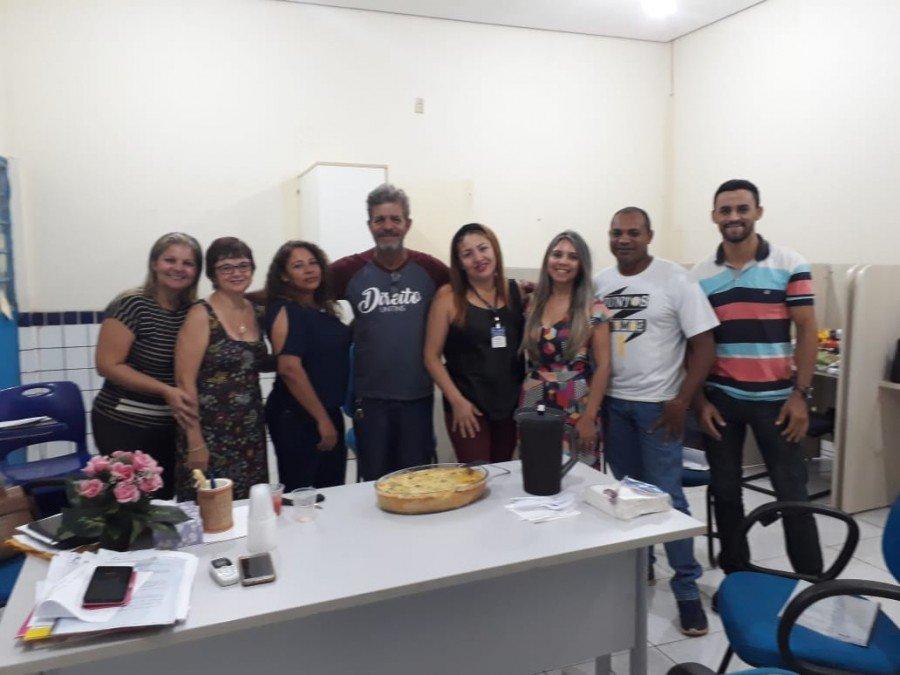 Integrantes do Nape durante primeira reunião de trabalho para avaliar Plano de Ação e propor novos projetos (Foto: Divulgação /Ascom Unitins)