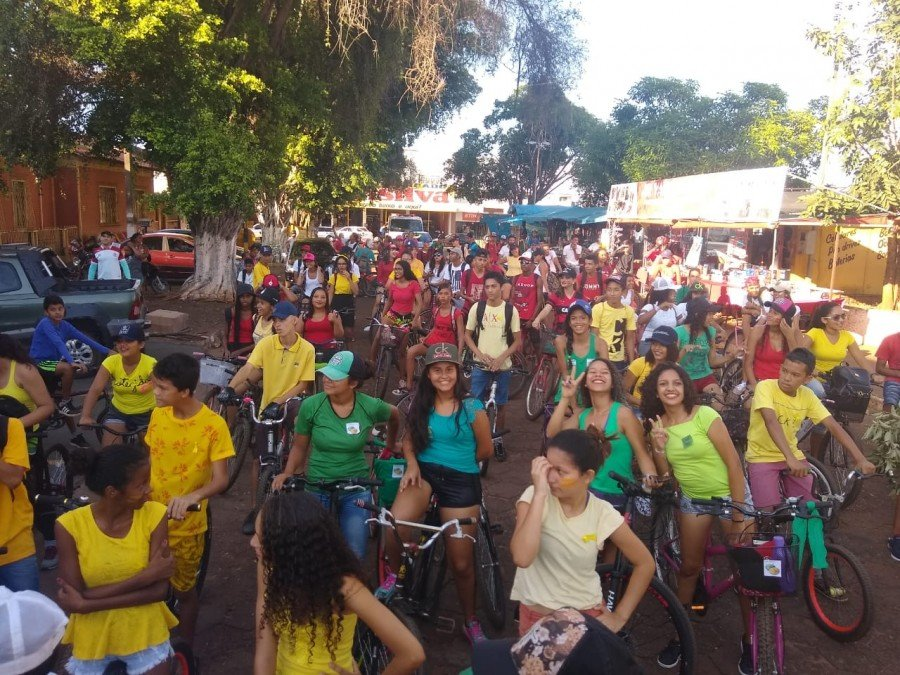 Ecobike reuniu alunos em Tocantinópolis