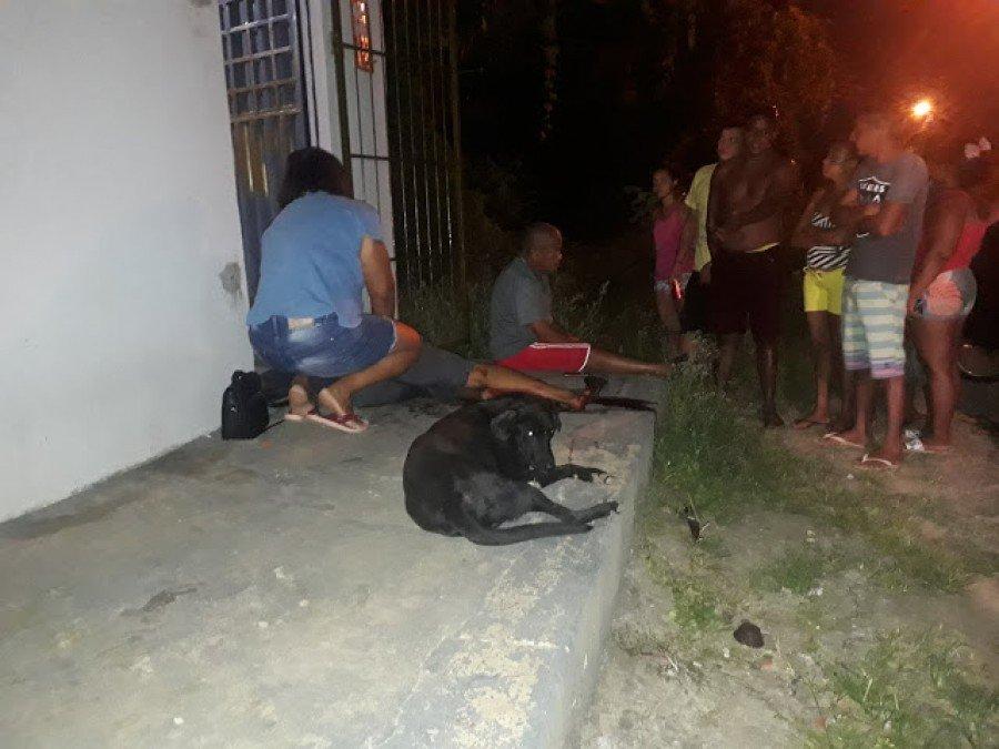 O crime aconteceu na noite desse domingo (16), no bairro da Caema
