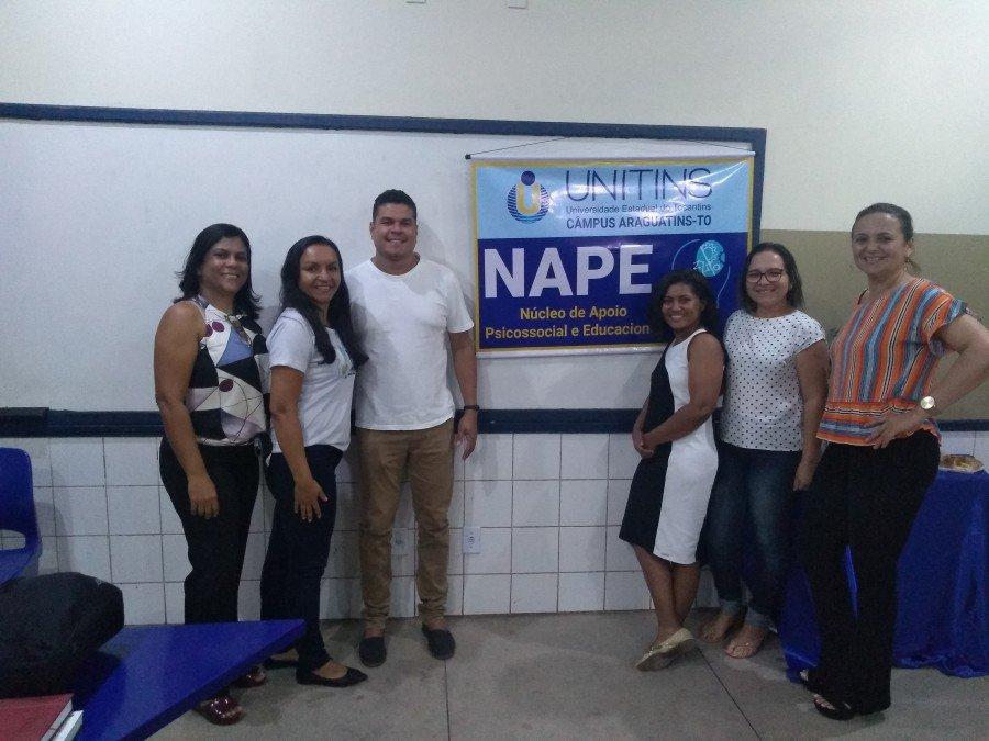 Nape da Unitins de Araguatins realizou reunião para apresentar dados e traçar estratégias
