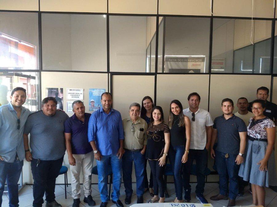 Adapec promoveu reunião em Araguatins para tratar da realocação dos servidores na nova estrutura