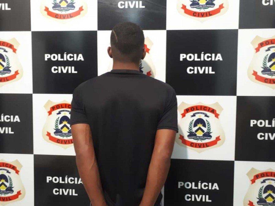 Suspeito de cometer diversos roubos, furtos e tráfico de drogas foi preso pela Polícia Civil em Taquaralto