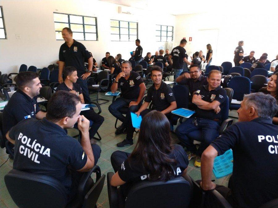 Primeira Turma da capacitação vai até 24 de agosto e contempla 50 policiais civis da Delegacia Regional de Araguatins