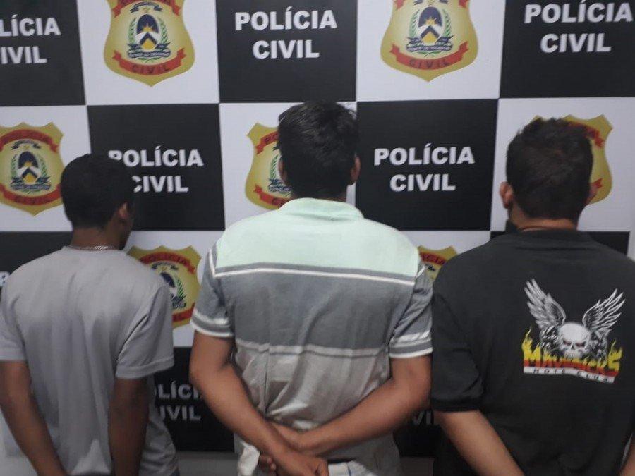 Ponto de venda de drogas foi desarticulado e três homens foram presos pela Polícia Civil em Paraíso