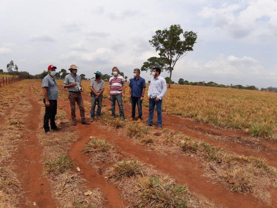 Visitas de monitoramento e acompanhamento das URTs (Foto: Seagro/Governo do Tocantins)