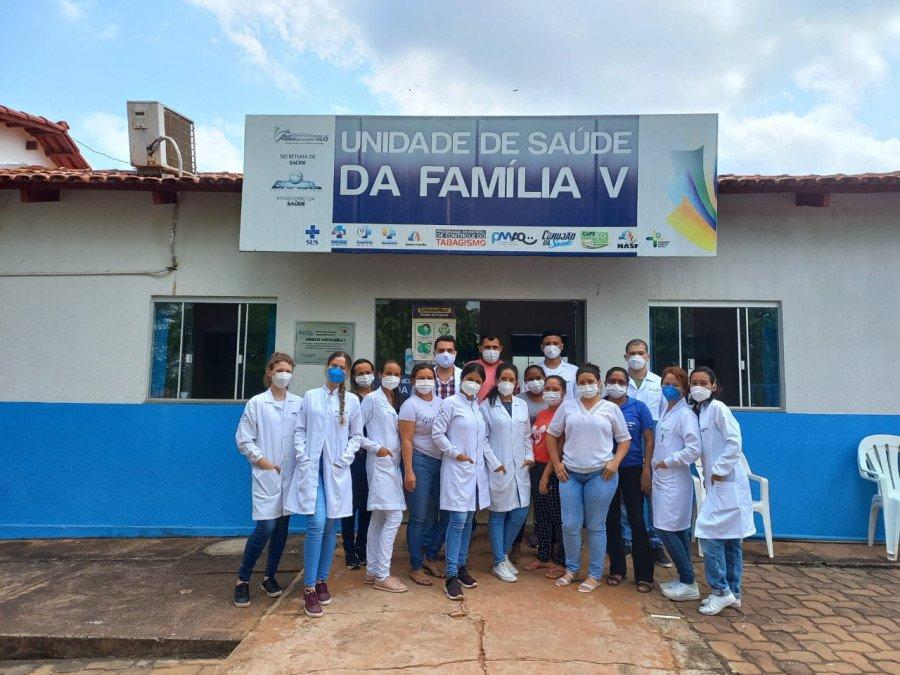 Alunos da Unitins acompanharam consultas e atendimentos na unidade (Fotos: Ananda Portilho)