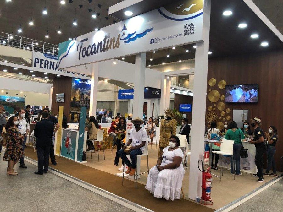 Sebrae TO levou empresários tocantinenses para a ABAV Expo realizada na capital cearense, Fortaleza (Foto: Divulgação/Sebrae)