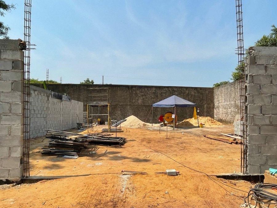 Obra vai proporcionar melhores condições ambientais e de saúde aos adolescentes e a toda população do Jardim Taquari, em Palmas