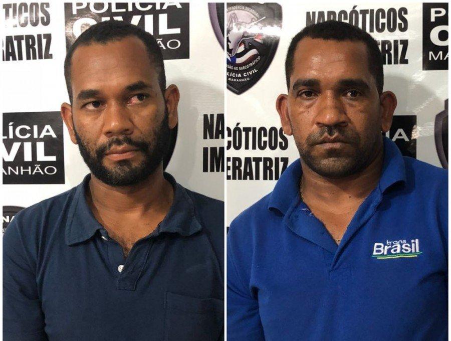 Irmãos foram presos ao transportar a droga em um ônibus de turismo