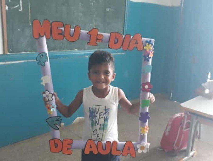 Luiz Otávio Cortez dos Santos, de 5 anos