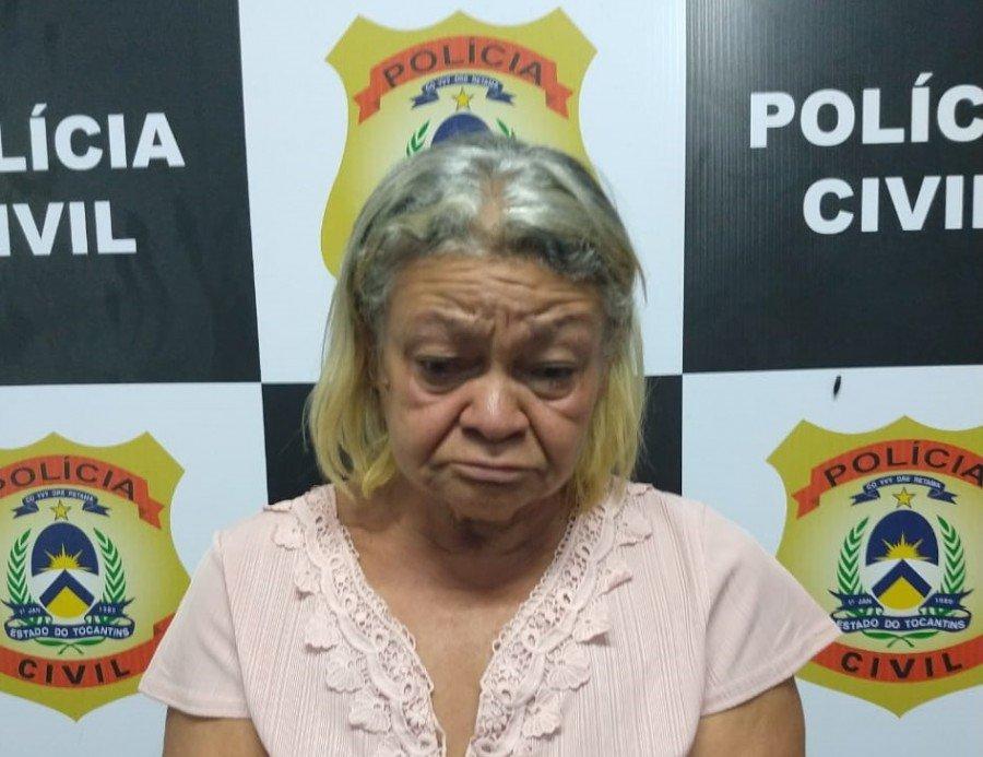 Polícia Civil prendeu Vovó do Tráfico em Paraíso do Tocantins