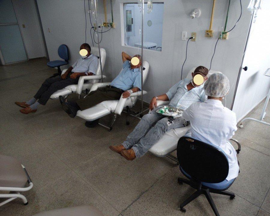 Tratamento de quimioterapia oferecido pelo SUS dentro do Hospital Regional de Araguaína