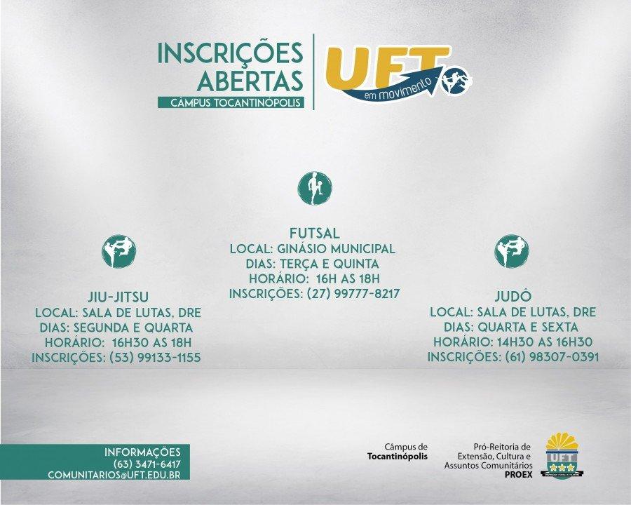 UFT em Movimento tem 3 atividades para o Câmpus da UFT de Tocantinópolis