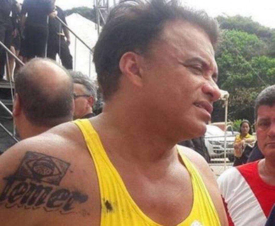 Deputado federal Wladimir Costa (PSD-PA) fez homenagem ao presidente Michel Temer (PMDB) em seu braço