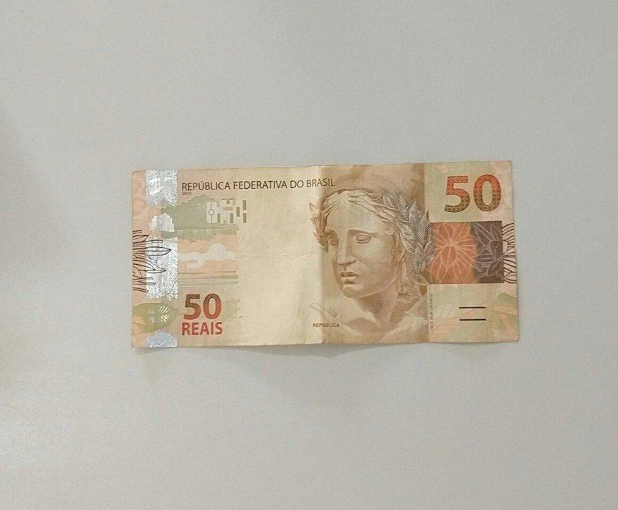 Polícia Militar deteve mulher de posse de uma moeda falsa em Muricilândia