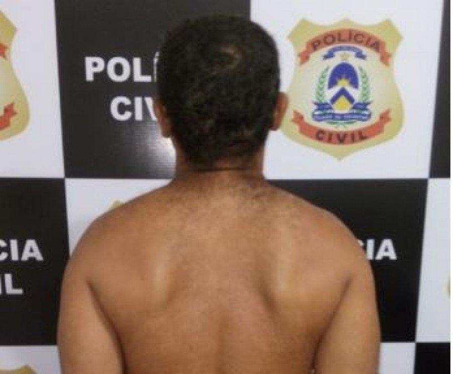 Suspeito de praticar homicídio qualificado foi preso pela Polícia Civil em Xambioá