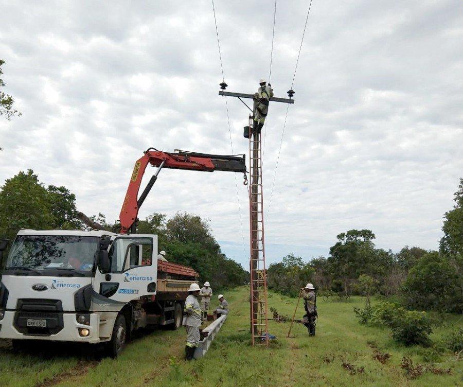 Energisa segue com obras de melhorias em 9 municípios do Bico do Papagaio