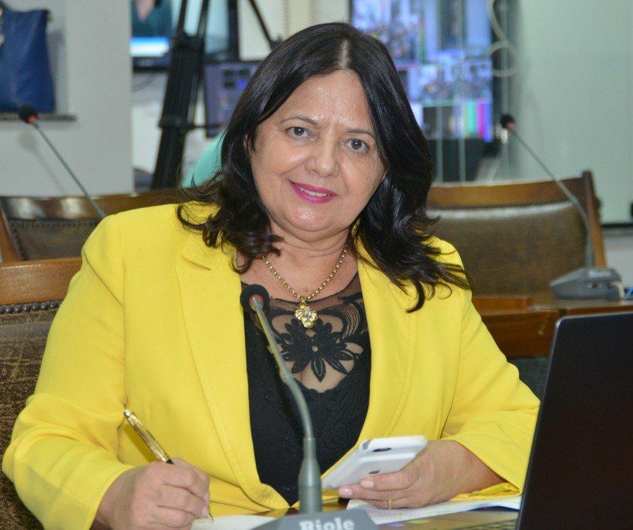 Deputada estadual, Valderez Castelo Branco (Foto: Ulisses Holanda)