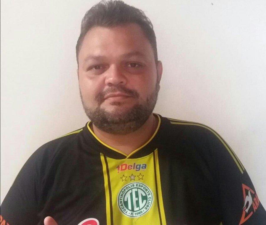Vagner Novais, presidente do Tocantinópolis (Foto: Divulgação)