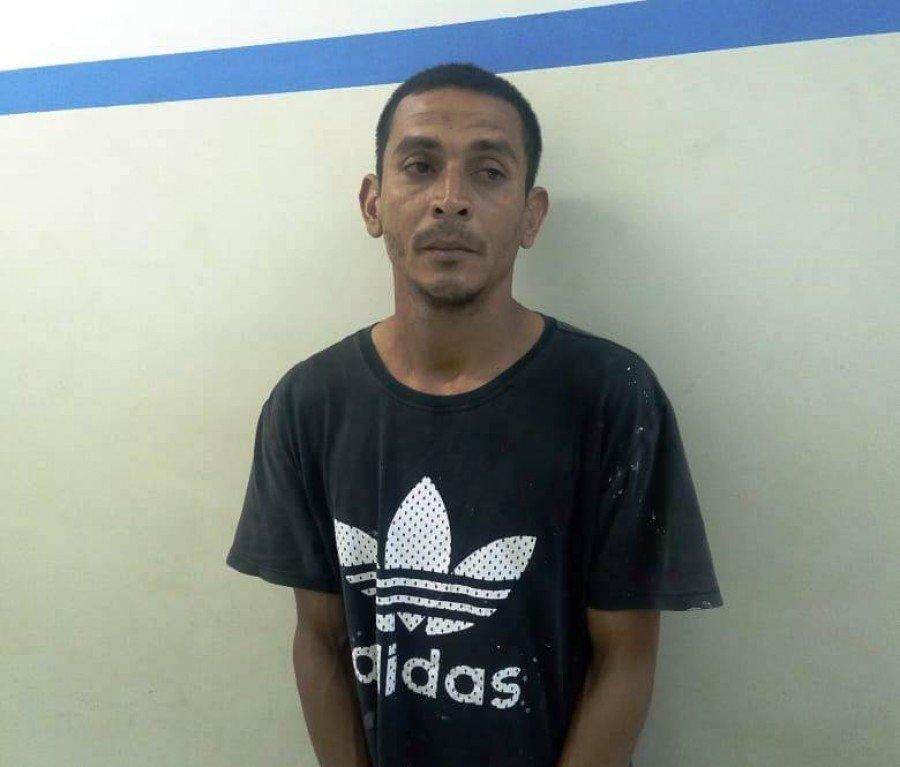 Rogério foi preso pela Polícia Civil do Tocantins em Palmas por homicídio cometido Imperatriz-MA