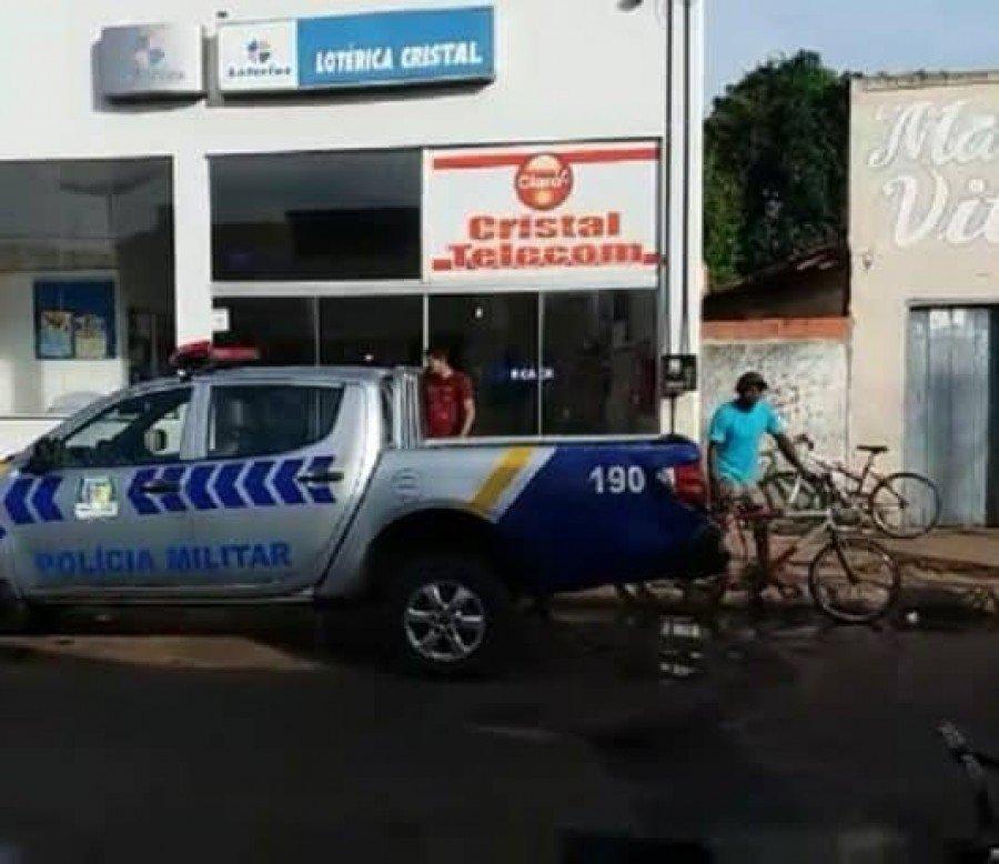 Bandidos invadiram a casa lotérica de Araguatins pelo teto e levaram todo o dinheiro do cofre