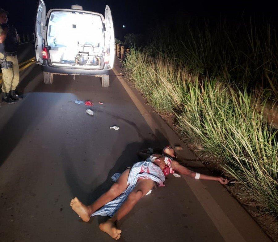 Bandidos seguiram ambulância, retiraram ferido e o executaram em Eldorado do Carajás-PA (Foto: Pebinha de Açúcar)