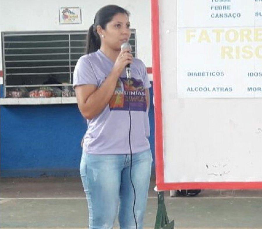 No local, a coordenadora de vigilância Epidemiológica, Laís Milhomem Cazimiro, realizará uma palestra