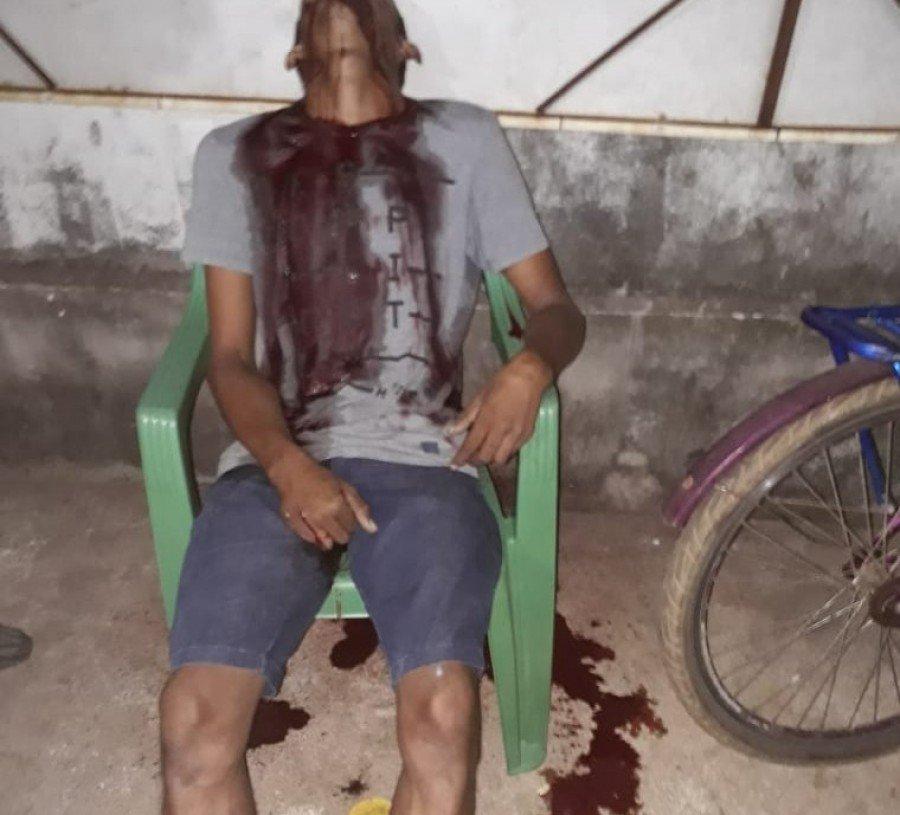 Gilvani de Sousa não teve qualquer reação e morreu sentado na cadeira onde estava