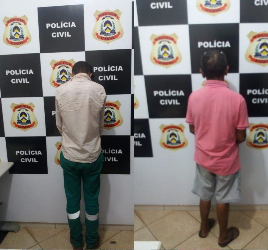 Homens julgados e condenados por estupro de vulnerável foram presos pela Polícia Civil em Itapiratins
