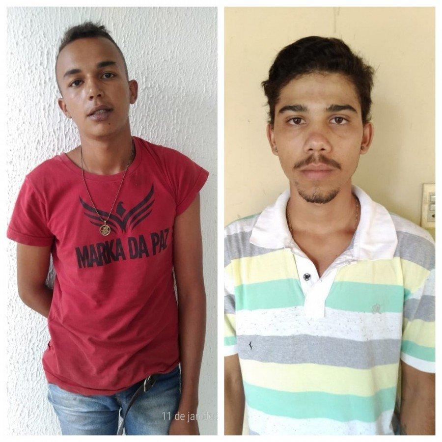 Suspeitos de matar o comerciante foram detidos (Foto: Divulgação/Polícia Civil)