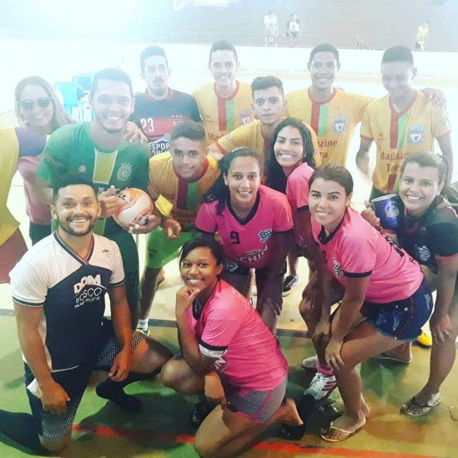Vencedores comemoram direito de representar o câmpus na etapa estadual (Foto: Divulgação /Ascom Unitins)