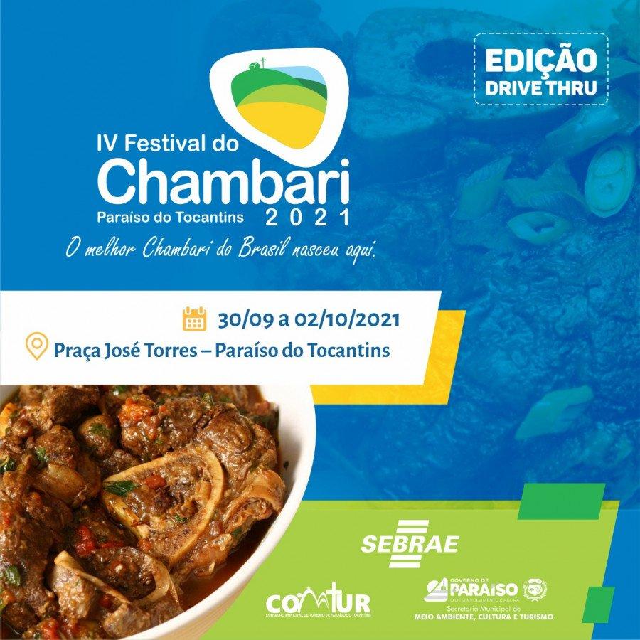 Sebrae e a Prefeitura de Paraíso lançam nesta quinta-feira, 23, às 19h30, o Festival do Chambari (Foto: Divulgação/Sebrae)