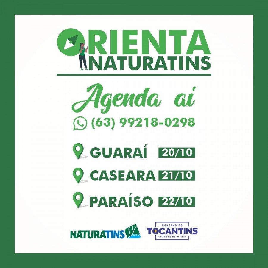 Guaraí, Caseara e Paraíso recebem nova edição do Orienta Naturatins (Foto: Naturatins/Governo do Tocantins)
