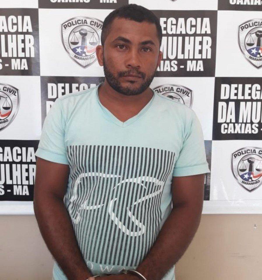 Márcio Alves foi preso suspeito de estuprar sua enteada de 13 anos em Caxias-MA
