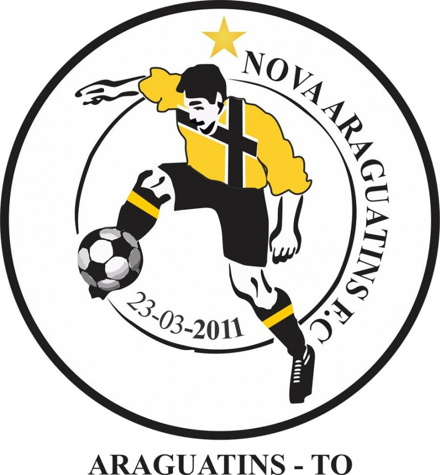 Escudo do Nova Araguatins F. C 2011 (Foto: Paulo Roberto)