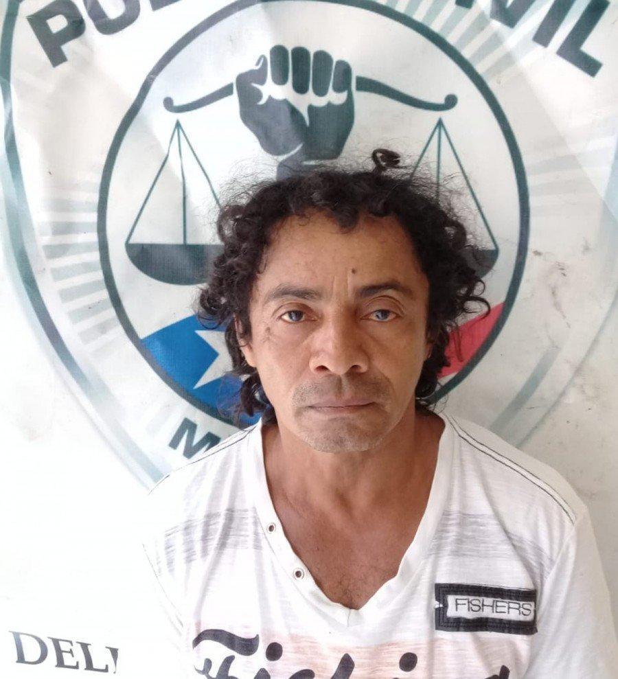 José Ribamar Pereira dos Santos foi preso no Povoado Guaraci da cidade de Itapecuru Mirim-MA