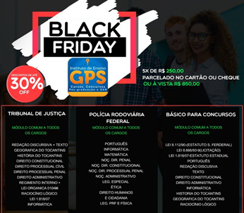 Black Friday GPS